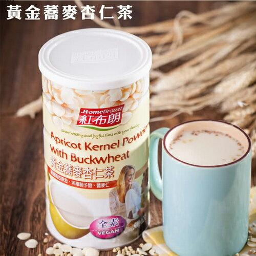 紅布朗 黃金蕎麥杏仁茶(500g/罐)