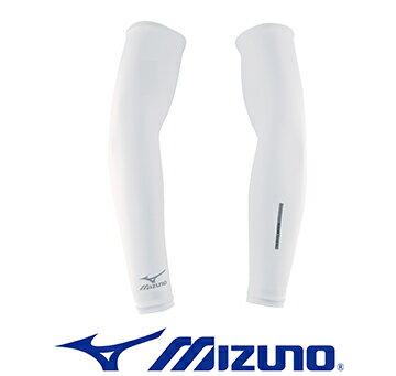 防曬必備袖套 32ty4g0201 (白)【美津濃MIZUNO】