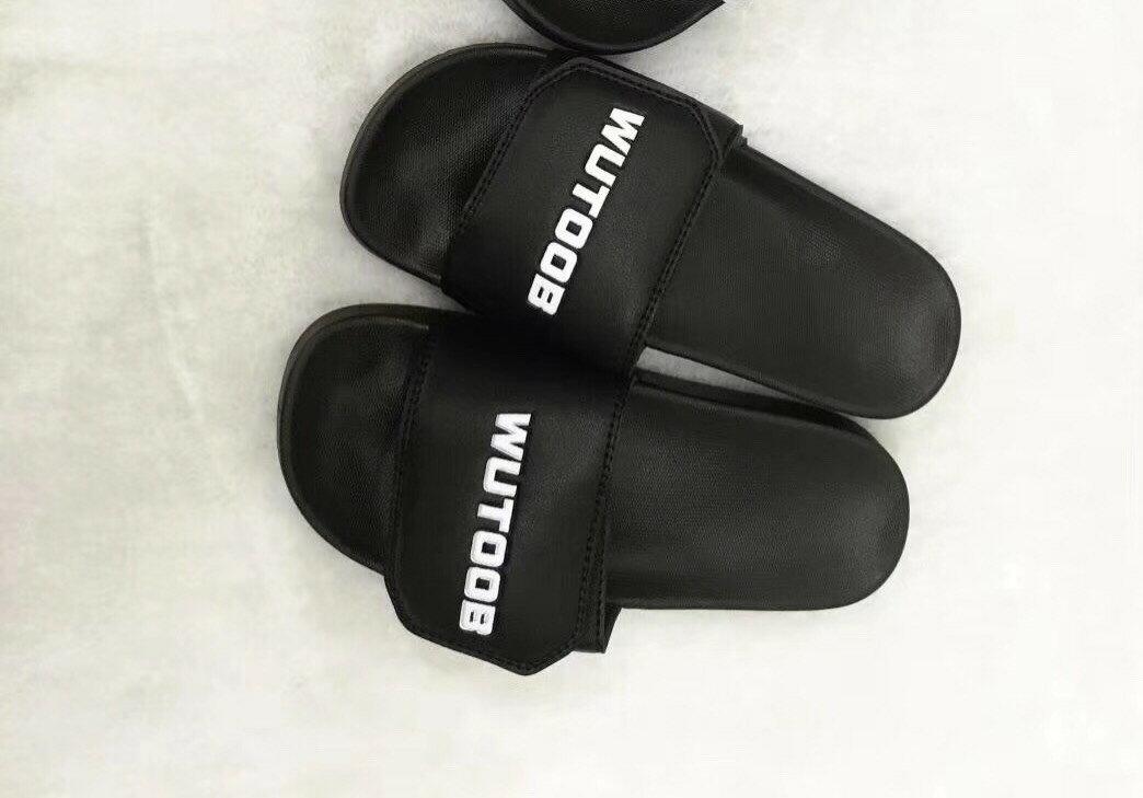 休閒拖鞋/鞋面自黏扣帶/一字拖  男款 (41~45)尺碼偏小 建議大一號