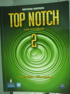 【書寶二手書T1/語言學習_PLY】Top Notch 2_Saslow, Ascher_2/e_有光碟