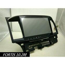 三菱FORTIS RX8~LANCER~TUCSON 10吋 安卓版螢幕主機