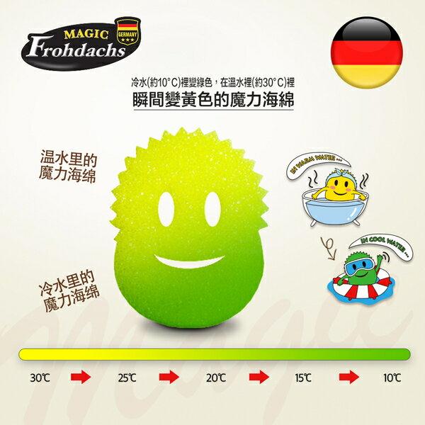 五折閃購★德國Magic Sponge軟硬兩用 / 微笑魔力清潔海綿(1入) 2