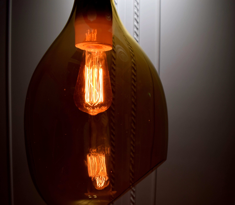 VESSEL 斜口玻璃琥珀色吊燈-BNL00126 7