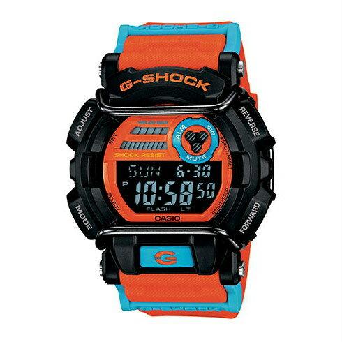 CASIO G-SHOCK GD-400DN-4鋼鐵勇者流行腕錶/49.7mm