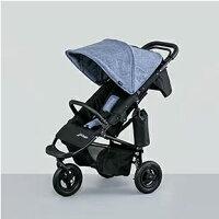 AirBuggy 嬰兒推車/COCO PREMIER MELANGE DENIM 米朗奇丹寧限定推車 0