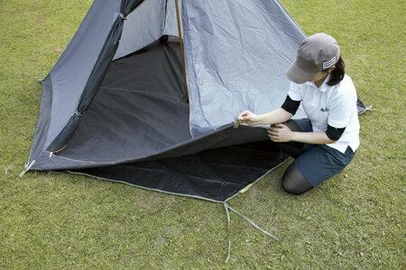 ├登山樂┤日本LOGOS 印地安300帳篷防潮地布(六角) #71809705