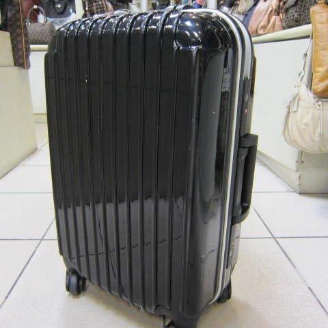~雪黛屋~ROBINSON 24吋硬殼可登機行李拉桿箱360度靈活旋轉輪鋁合金框+ABS+PC耐壓耐摔#10220 黑