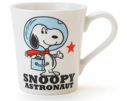 【真愛日本】15100300022馬克杯-SN太空人 史奴比 史努比 SNOOPY 馬克杯 水杯 茶杯 餐具
