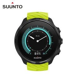 《台南悠活運動家》SUUNTO 9  LIME 萊姆綠 多項目運動GPS 腕錶