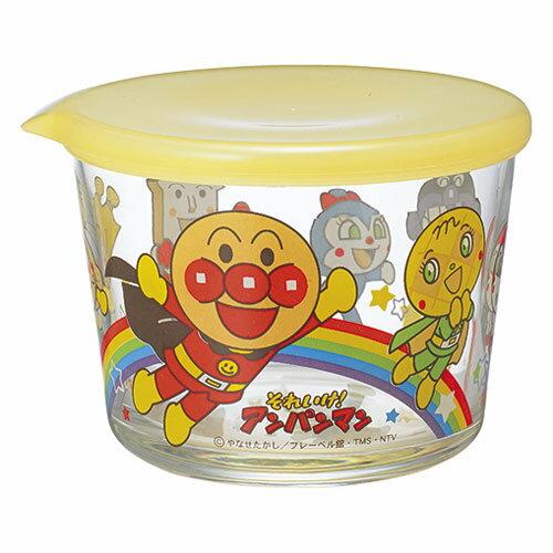 【真愛日本】17052300001 日本製玻璃保鮮盒275ml-ANP 電視卡通 麵包超人 吐司超人 細菌人 收納盒