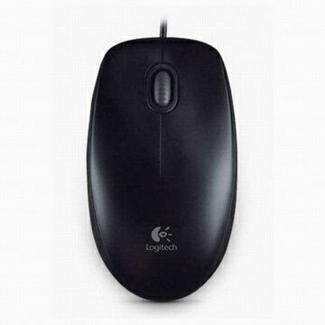[富廉網]【Logitech】羅技 B100 new 有線光學滑鼠