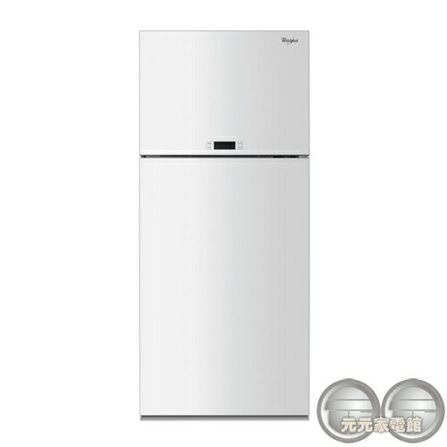 <br/><br/>  Whirlpool 惠而浦 521L 上下門玻璃面板電冰箱 WDT2525LW<br/><br/>