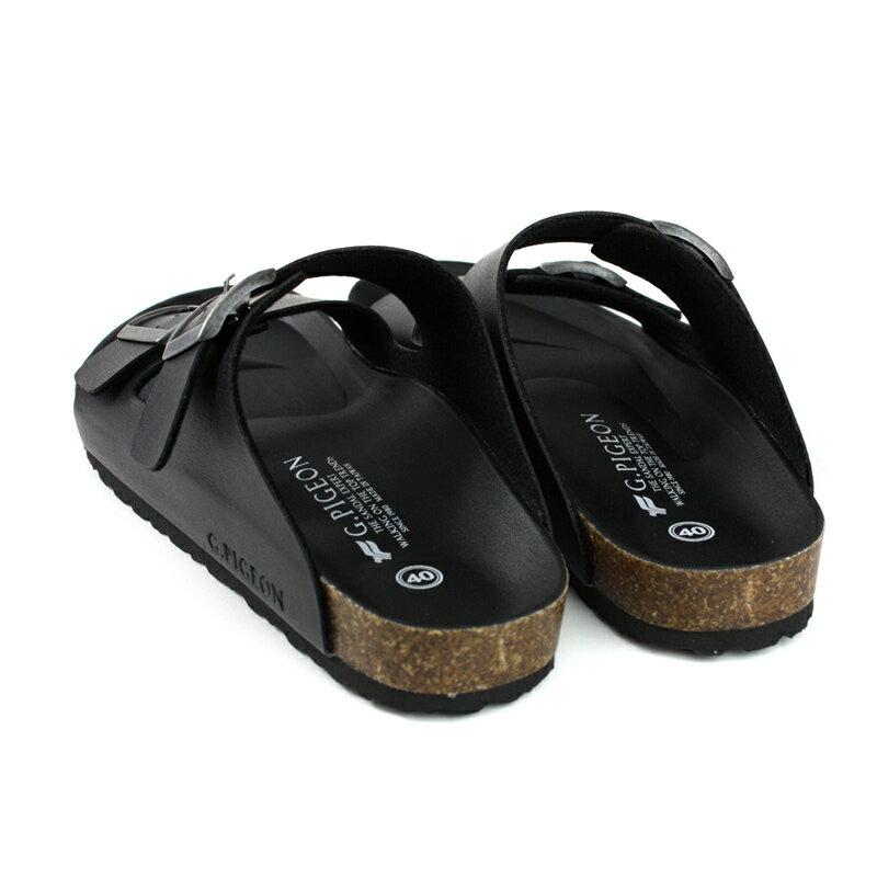 G.P 阿亮代言 拖鞋 勃肯鞋 黑色 男鞋 M371-10 no051 1