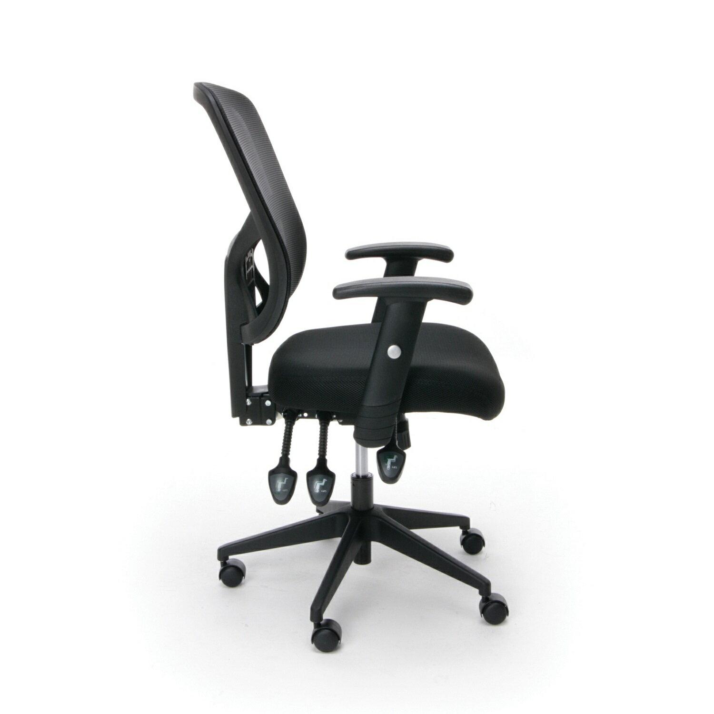 office essentials essentials by ofm ess 3050 3 paddle ergonomic