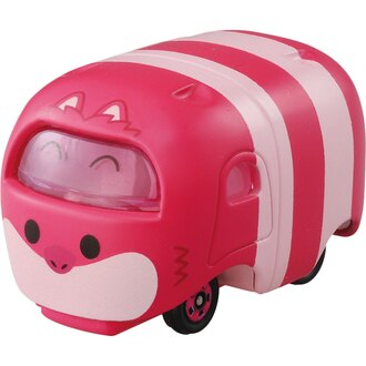 【真愛日本】16082000015TOMY小車-TSUM妙妙貓   迪士尼 愛麗絲夢遊仙境 小車 擺飾 收藏 疊疊樂