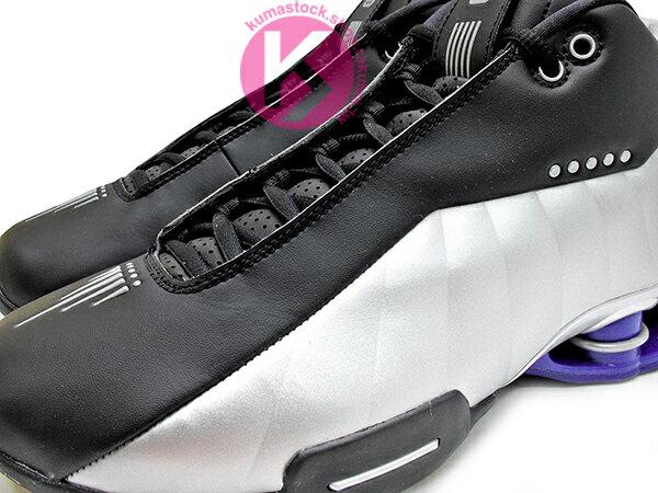 2019 完整復刻 半神人 Vince Carter 代言 NIKE SHOX BB4 OG 黑銀藍 卡特 彈簧鞋 籃球鞋 (AT7843-001) ! 2