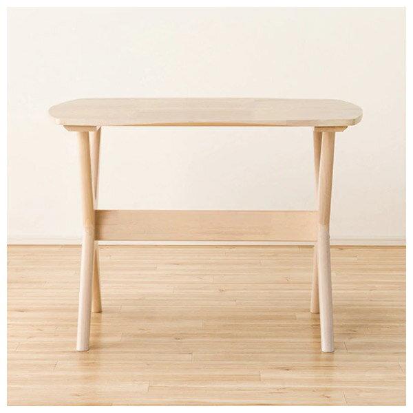 ◎(OUTLET)實木餐桌椅三件組 RELAX WIDE90 WW 橡膠木 福利品 NITORI宜得利家居 1