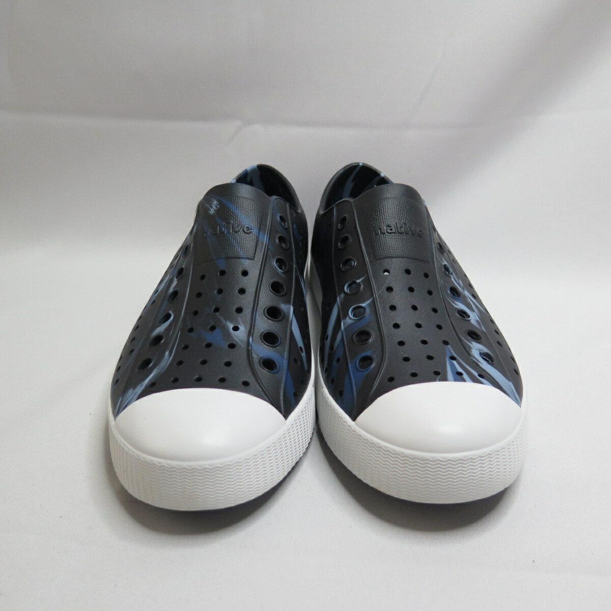 【滿額領券折$150】Native JEFFERSON MARBLED 洞洞鞋 防水 男款 111001108954 黑【iSport】