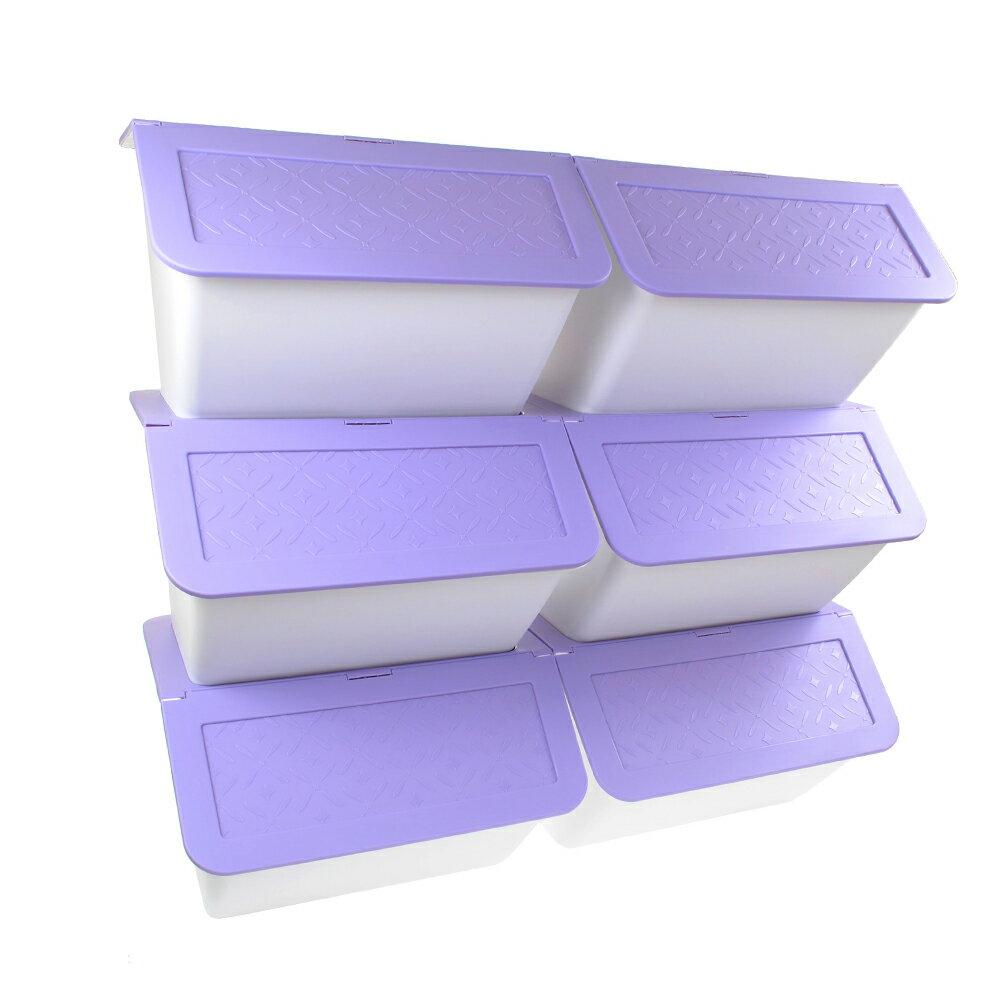 大嘴鳥可疊式收納箱33L   同色系 3入一組 2
