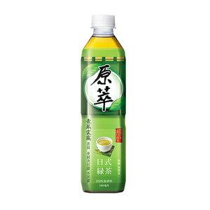 原萃 日式綠茶 無糖 580ml