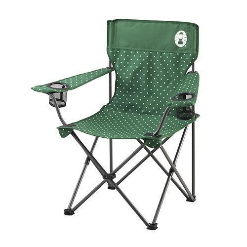 《台南悠活運動家》Coleman 圓點綠渡假休閒椅 CM-26735