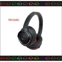 弘達影音多媒體 ATH 鐵三角 audio technica ATH-WS660BT 黑紅 重低音無線藍芽耳罩式耳機