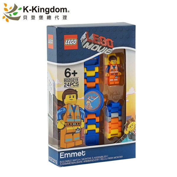 【LEGO 樂高手錶】樂高玩電影系列 艾密特 8020219