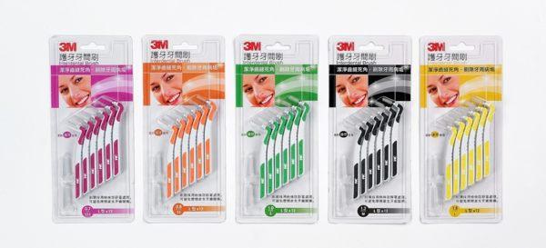 【3M】護齒牙間刷 L型*12支入/卡* (5種尺寸) 0