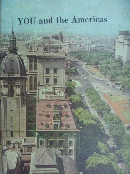 【書寶二手書T8/地理_QIO】YOU and the Americas_1967年