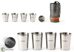 TNR 不鏽鋼露營套杯 休閒 旅行杯組 不銹鋼杯 酒杯 啤酒杯 茶杯
