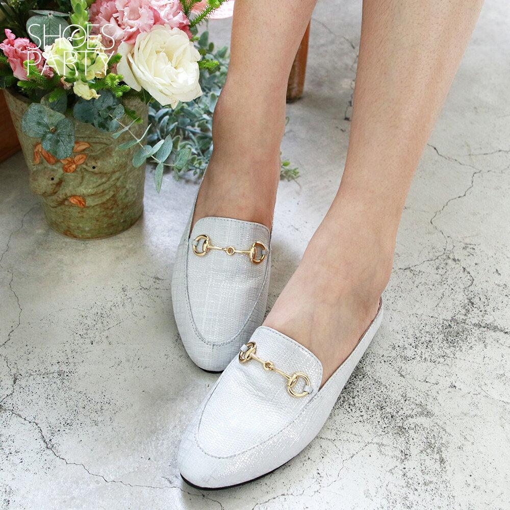 【S2-19519L】一套就走,真皮鍊條穆勒鞋_Shoes Party 3