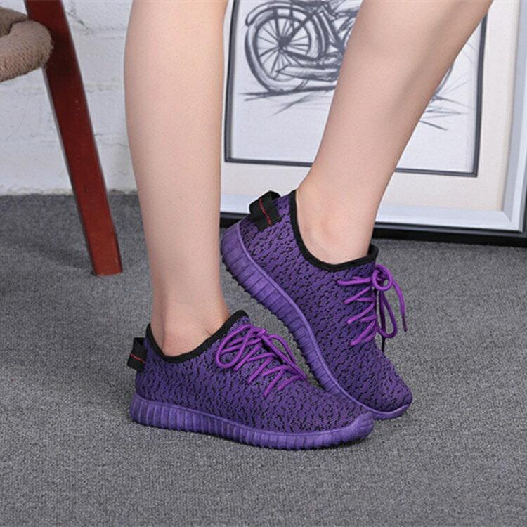 椰子鞋 2020春季新款椰子鞋女網鞋休閒鞋跑步運動鞋網面透氣輕便軟底百搭