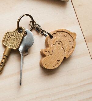 開心河馬 - 鑰匙圈