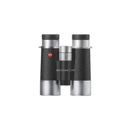 Leica 40653 8 x 42 Silverline Water Proof Roof Prism Binocular with 7.4 Degree Angle of View 0