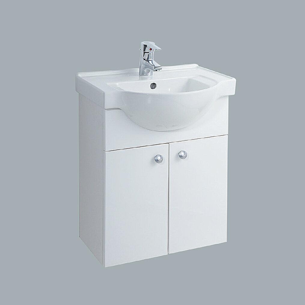 HCG臉盆浴櫃/不含水龍頭/L4175SAbd+LCS4175B