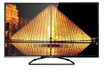 飛利浦 PHILIPS 50吋 LED液晶 電視/顯示器+視訊盒50PFH5060