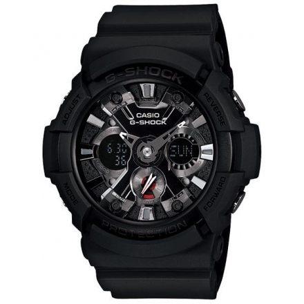 CASIO 卡西歐 G-SHOCK 潮流黑武士運動錶(限量)  GA-201-1ADR 原廠公司貨 附保證卡 保固期一年 手錶 運動錶 電子錶