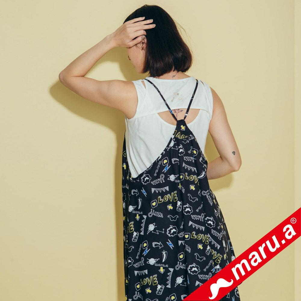 【maru.a】滿版印花洋裝 8317118 2