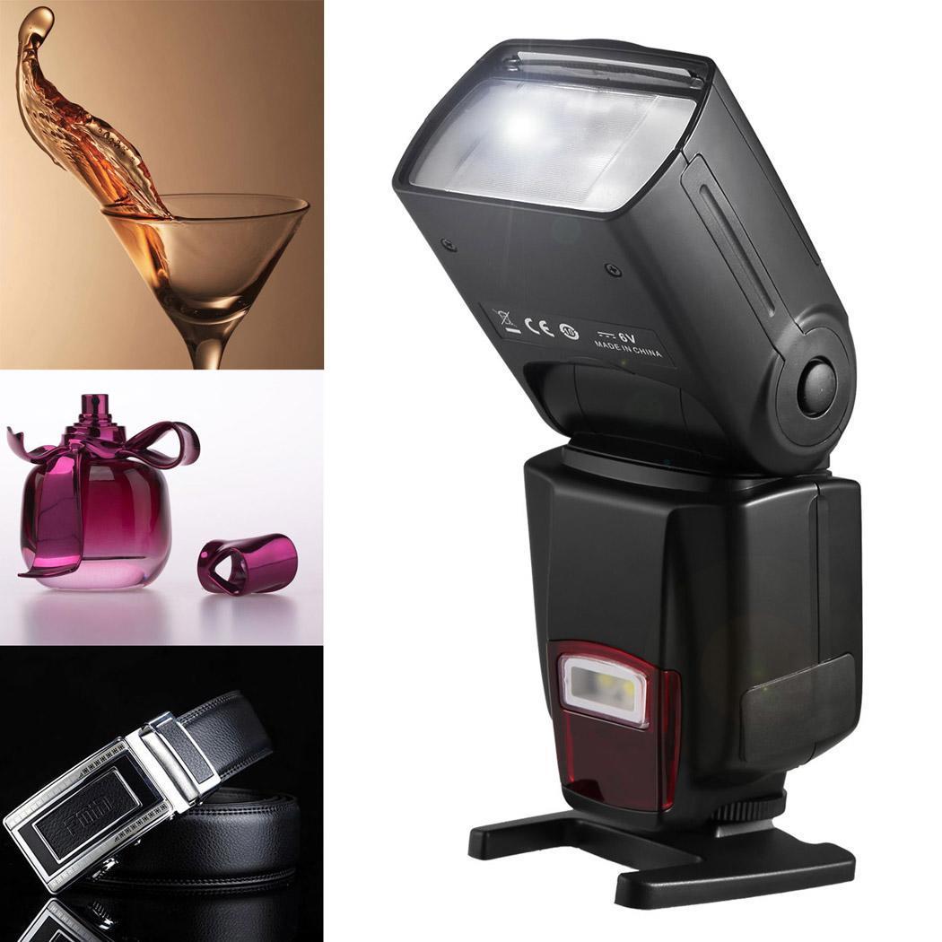 Flash Speedlite DSLR Cameras Digital Cameras Flash Light with Protecting Bag 5