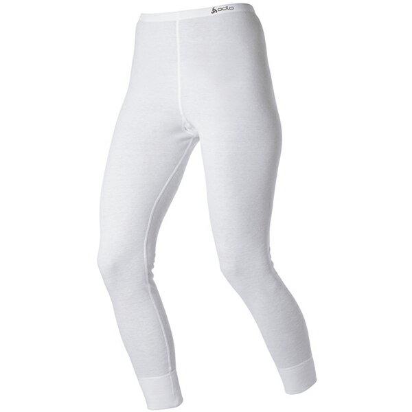 【【蘋果戶外】】odlo 152041 女褲 白『送polartec手套』瑞士 機能保暖型排汗內衣 衛生衣 發熱衣 保暖衣 長袖