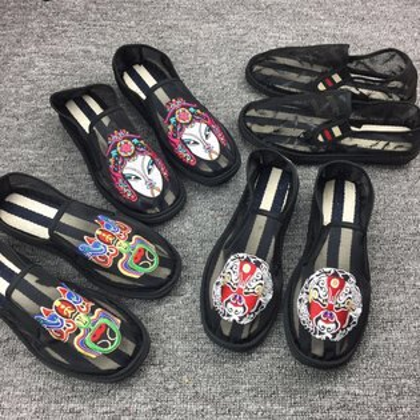 FINDSENSEMD日系流行時尚潮男多款選網面透氣一腳蹬懶人鞋休閒鞋