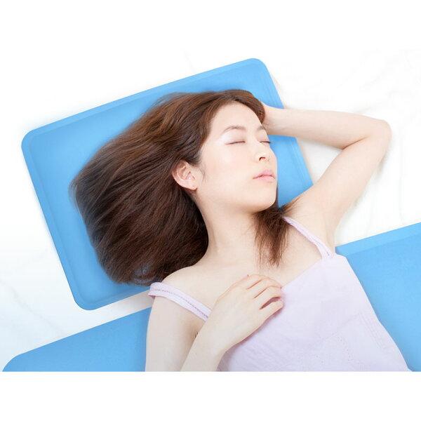 夏日促銷!COOL冷凝膠涼感床+枕頭墊