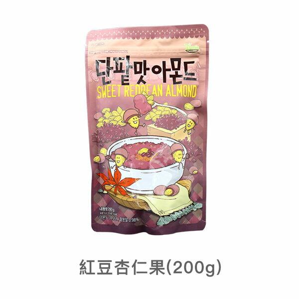 韓國TomsGilim紅豆杏仁果200g【庫奇小舖】