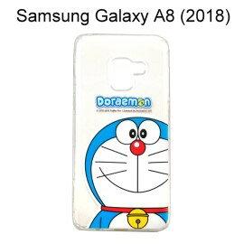 哆啦A夢空壓氣墊軟殼[大臉]SamsungGalaxyA8(2018)5.6吋小叮噹【正版授權】