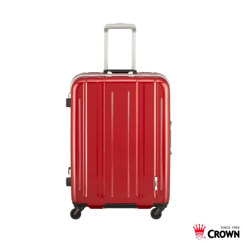 【加賀皮件】CROWN 皇冠 LINNER系列 多色 鋁框 拉桿箱 旅行箱 29吋 行李箱 C-FI517