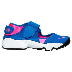 女鞋 BEETLE PLUS 全新 商品 現貨 NIKE RIFT 藍粉 桃紅 忍者鞋 魔鬼氈 314149-461 D-654 23 CM