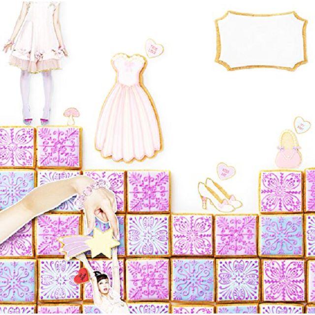 甜點與古董主題女孩風設計素材集 2