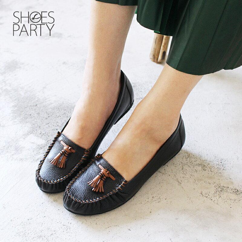 【C2-18113L】雙流蘇荔枝紋牛皮莫卡辛_Shoes Party 3