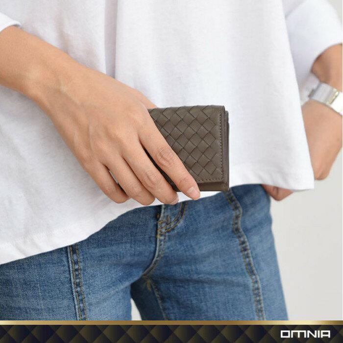 韓國 OMNIA 維芬編織紋真皮女用短夾 皮夾皮包錢包 NO.3286C【韓國直送】 6