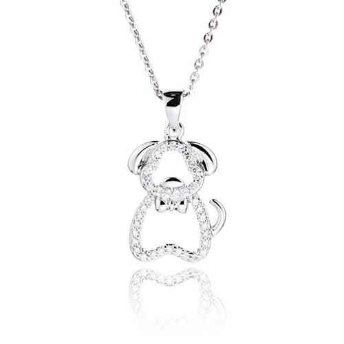 大東山珠寶 luperla:大東山珠寶忠心狗璀璨純銀項鍊